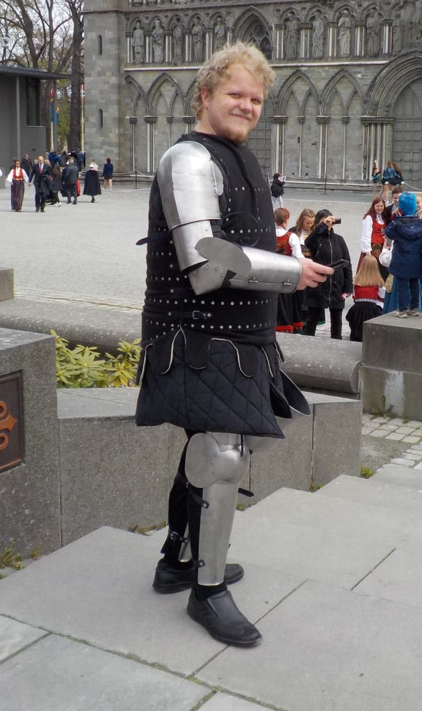 All medieval knights had the iPhone 6. Blackberrys are for wimps!
