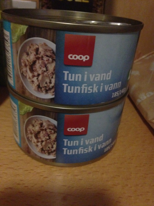 Canned tuna: cheap in every country.